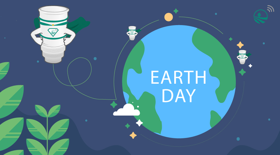 earth Day 2020 - fond article