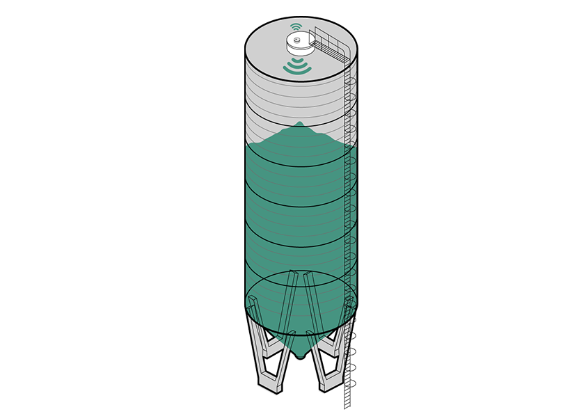 silo différents capteurs différents usages agrilabio