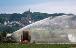 enrouleur irrigation salon space 2021