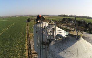 installation 2 sur silo salon space 2021